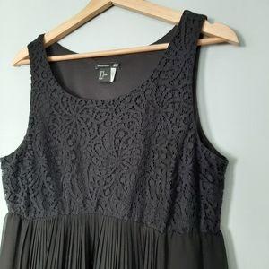 H&M Mama Maternity Blace Lace Detail Dress M